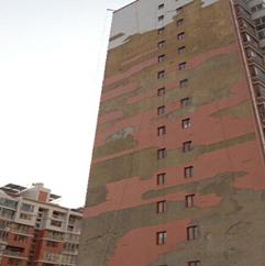 呱呱亮旧墙翻新案例